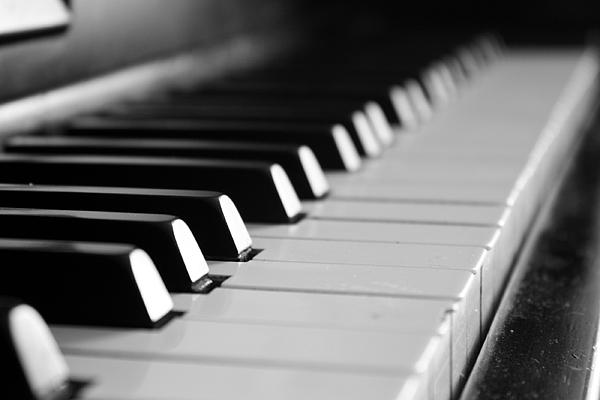 Piano Black And White Black And White Grand Piano